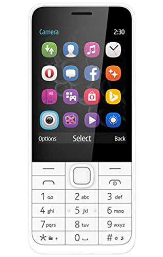Goodone G230 Dual Sim 2.8 Inch Tft Display Keypad Feature Rich Mobile Phone Vga Camera Bright Torch Vibration (white)