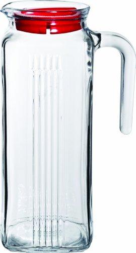 35.25 (UTOPIA Kühlschrank, p80050, Kühlschrank Krug mit rotem Deckel 35.25oz (100CL) (12Stück))