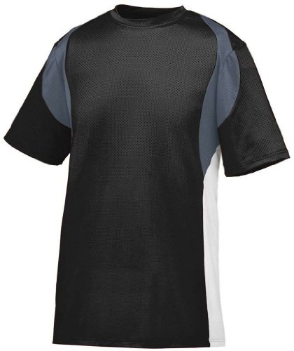 Augusta Herren T-Shirt BLACK/GRAPHITE/WHITE