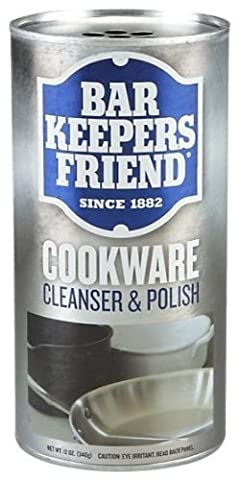 Bar Keepers Friend Cookware & Stainless Steel Cleanser & Polish by Bar Keepers Friend