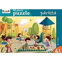Parkta - 40 Parça Yer Puzzle