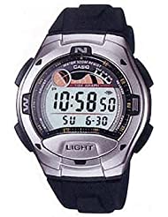 Casio - W-753-1A - Sports - Montre Mixte - Quartz Digital - Cadran LCD - Bracelet Résine Noir