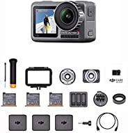 "DJI Osmo Action Prime Combo - Actionkamera mit Zubehörkit inkl. DJI Care Refresh, 12MP 1/2,3"" CMOS, bis z"