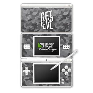 DeinDesign Skin kompatibel mit Nintendo DS Lite Aufkleber Sticker Folie Montanablack Fanartikel Merchandise Fan Article Merchandise