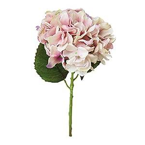 Flores artificiales, seda de tacto real, flores artificiales, ramo de flores de peonía, ramo de novia, hortensias…