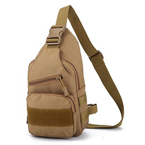 BULAGE Paket Taktik Brust Multifunktion Schulter Messenger Bag Outdoor Bergsteigen Tarnung Männer Reisen Reiten Mode Tragen Bb