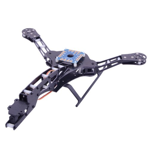 Goolsky HJ-Y3 Fiber Tricopter/dreiachsige MikroKopters Glasrahmen