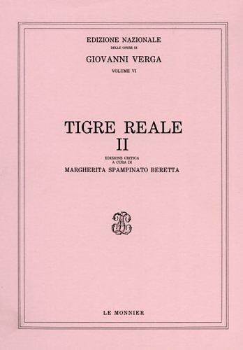 Tigre reale: 2