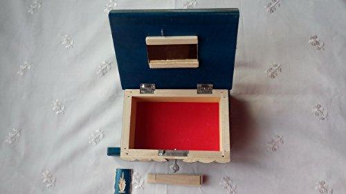 Neu-Magie-Rtsel-Puzzle-Geheim-Schmuckkasten-schn-handwerk-handarbeit-Holz-schatulle-Zauber-ksten