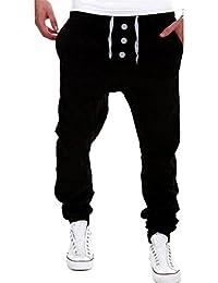 ❉Pantalons De Jogging Pantalons De Sport Pantalon Chino Pantalon Sarouel Pantalons  Hommes Pantalons de survêtement 566f3551d657