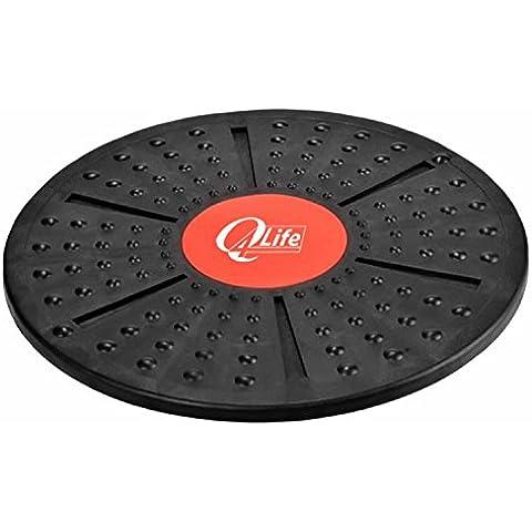 Big Q4Life Extreme-Balance Board 40 cm, 39,88 (15,7 antiscivolo cm, esercizi del Core caviglia, corpo spalla, l