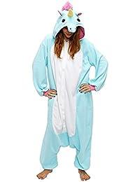 Unicornio Pijamas de Pijamas para Mujer de Pijama para Hombre Adulto Cosplay