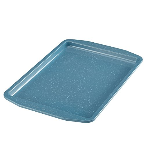 Paula Deen Nonstick Bakeware Cookie Pan, 10 x 15, Gulf Blue Speckle by Paula Deen
