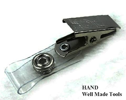 Attache Pour Vetement - Pinces en métal avec sangles en vinyle