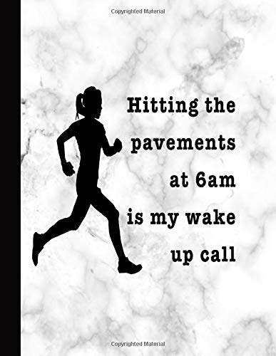 Hitting the pavements: Journal for the running lover for reflection, journaling and training schedules por Mackay's musings Journals