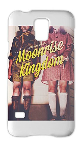 Moonrise kingdom graphic movie poster Samsung Galaxy S5 Plastic Case (Ben Bruce Poster)