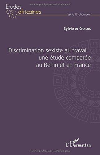 DISCRIMINATION SEXISTE AU TRAVAIL