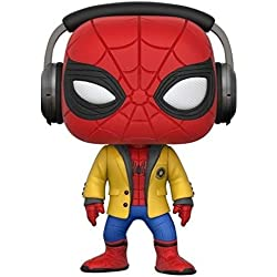 Marvel-21660 Figura de Vinilo Spider-Man with Headphones, (Funko 21660)
