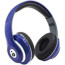 Sunstech REBELBL - Auriculares Bluetooth, Color Azul