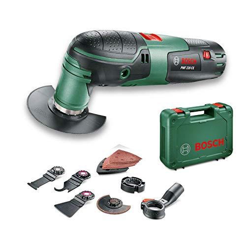 Bosch home and garden utensile multifunzione pmf 220 ce set, verde