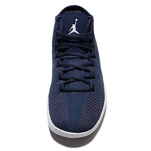 Nike Herren Jordan Reveal Basketballschuhe, Weiß Blau - Azul (Midnight Navy / Pure Platinum-Infrared 23)