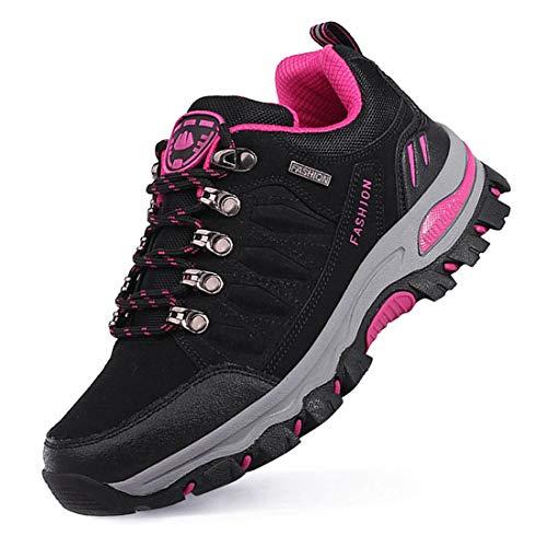 LSGEGO Unisex Wanderschuhe Outdoor Wanderschuhe Casual Reisen Wandern Klettern Stiefel Unisex Atmungsaktive Wasserdichte Paare Schuhe Casual Stiefel