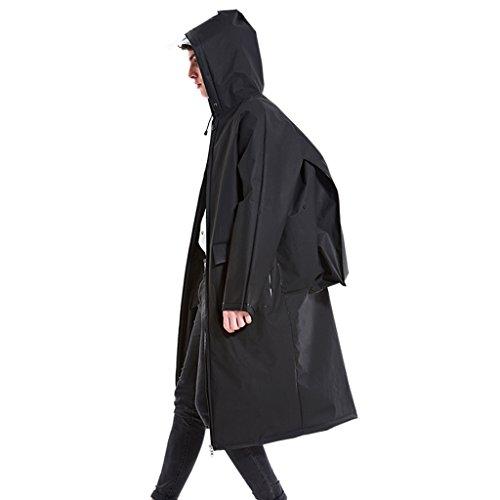 LT Backpack Raincoat Outdoor Hiking Poncho Waterproof Zipper Pocket