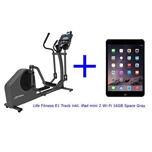 Life Fitness E1 Track+ inkl. iPad mini 2, Life Fitness Elliptical Cross-Trainer