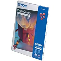 Epson S041061 A4 photo quality inkjet paper for use on all Epson inkjet printers, PACK of 100 sheets