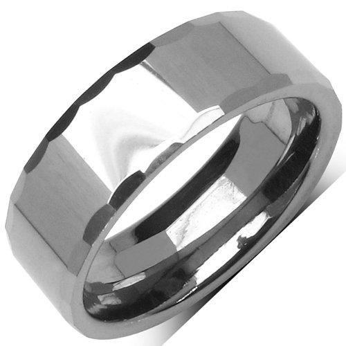 Johareez Prashantt Guptha Plain Tungsten Unisex Ring