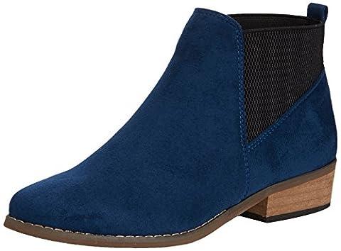 Dolcis Janet, Women's Chelsea Boots, Blue 5 UK (38