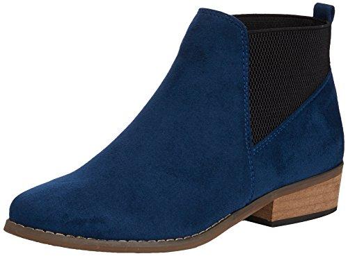Dolcis Dolcis Janet, Bottines à doublure Femme Bleu - Bleu (Bleu)