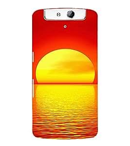 EPICCASE Sunrise Mobile Back Case Cover For OPPO N1 (Designer Case)