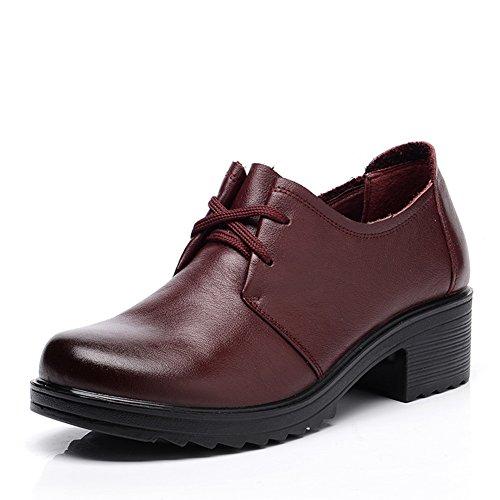 Chaussures de grand fond mou/Chaussures de femmes d'âge mûr/ d'âge mûr shoes/Chaussures de travail C