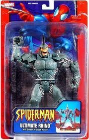 illan Ultimate Rhino by Spider-Man (Spiderman Villans)