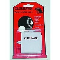 Clubhawk Compact à plat ou Crown Green Bowls mesure Mètre à ruban