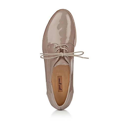 Paul Green Chaussures À Lacets Femme Taupe