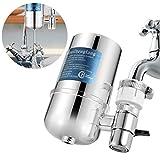 LYY Wasserhahn Wasser Filtersystem Prämie Wasserfilter Tischwasserfilter Mit Filterkartuschen Küchenzubehör Für Gesunder Lebensstil