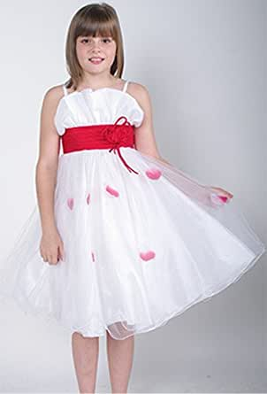 Bridesmaid Dress Jessica in Red Age 3 years