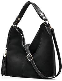 Realer Nuevo bolso de cuero Cuerpo de la cruz del monedero del totalizador de las mujeres del diseño