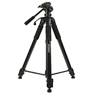 Polaroid 184 cm Photo / Video ProPod Tripod Includes Deluxe Tripod Carrying Case + Additional Quick Release Plate For Digital Cameras & Camcorders
