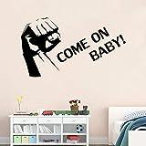 Stickers Muraux Sticker Mural Come On Baby Inspirational Vinyle Sticker Décor À La...