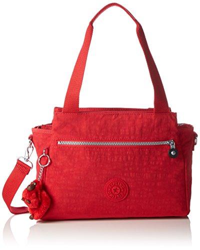 Kipling Elysia, Borsa con Maniglia Donna, Rosso (REF35J Vibrant Red), 29.5x23x12.5 cm (B X H X T)