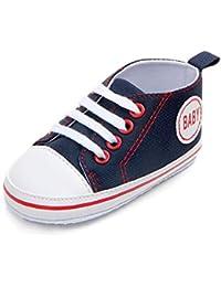 Zapatos de niños, Calzados/Zapatillas/Sandalias de niños Zapatillas de Lona para bebés Lase up Zapatillas de Deporte Informales Zapatillas de Deporte cómodas para niños