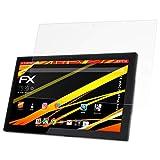 atFolix Schutzfolie kompatibel mit Xoro MegaPad 2404 V2 Bildschirmschutzfolie, HD-Entspiegelung FX Folie (2X)