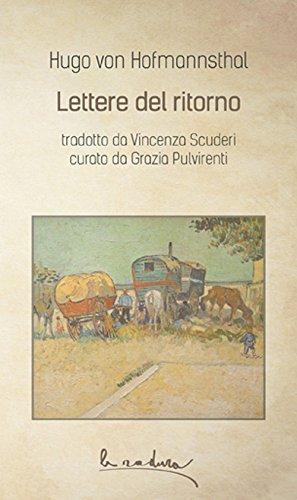 Lettere del ritorno (La radura) por Hugo von Hofmannsthal