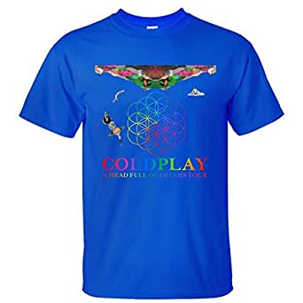 Men 39 s coldplay a head full of dreams tour t shirt xxxxl for Entire book on shirt