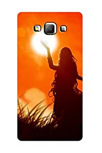 ZAPCASE PRINTED BACK COVER FOR Samsung A7