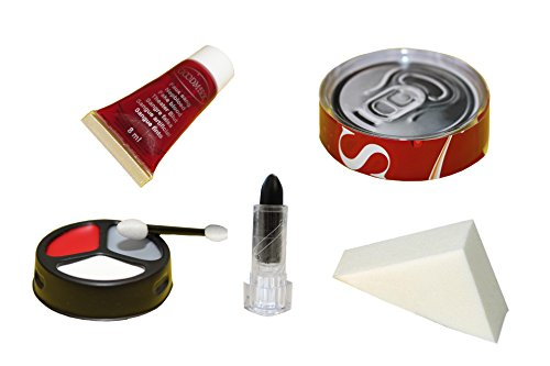 Goodmark Schmink Set Zombie Chef, 1er Pack (1 x 8 Stück) (Halloween Zombie Make-ups)