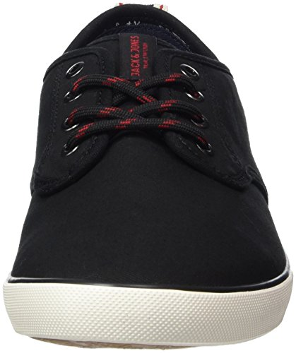 Jack & Jones Jfwtack Canvas Anthracite, Sneakers Basses Homme Noir (Anthracite)